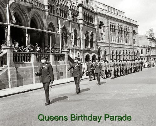 Queen's Birthday Parade 1966 - Rifle Depot Royal Green ...