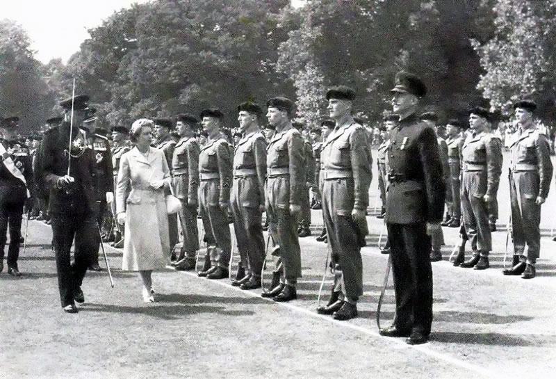 KRRC John P Craney Bicentenary of the Regiment, 25th July 1955 ...